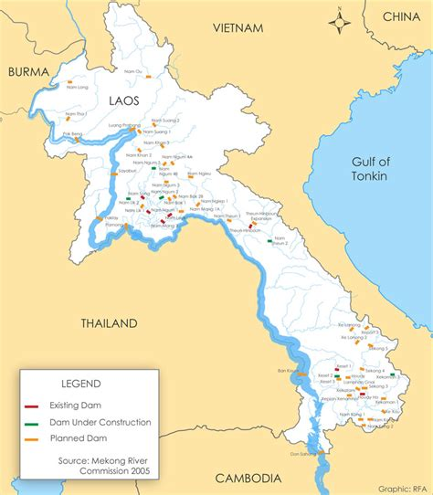 English Country Home Plans by Map Of Dams In Laos