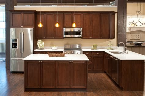 photo of kitchen cabinets walnut kitchen and bath cabinets builders cabinet supply