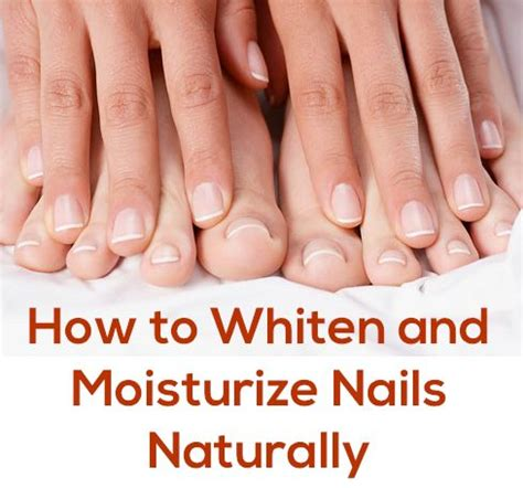 How To Maintain Healthy Beautiful Nails by 7 Ways To Whiten Your Nails Naturally Whitening Nail