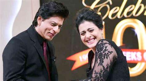 film india paling rame shahrukh khan kajol syuting di india bagian akhir