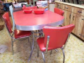 Retro Kitchen Furniture by Retro Kitchen Table And Chairs Set Home Designs Project