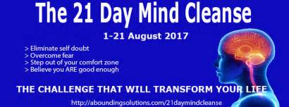 21 Day Mind Detox by Abounding Solutions The 21 Day Mind Cleansethe 21 Day
