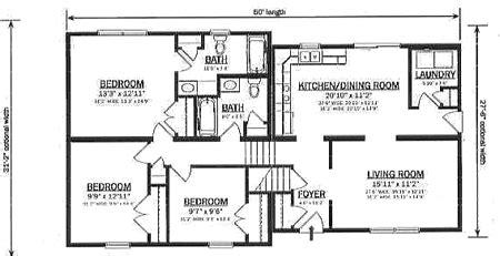 bi level floor plans b147032 1 by hallmark homes bi level floorplan