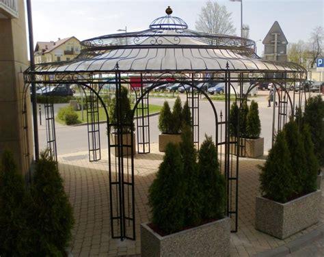 gartenpavillon metall gartenpavillon metall rost 216 550cm eleganz