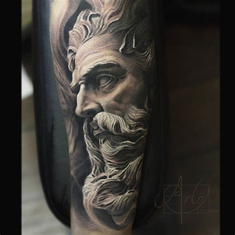 neptune tattoo neptune god of the sea sleeve best ideas designs