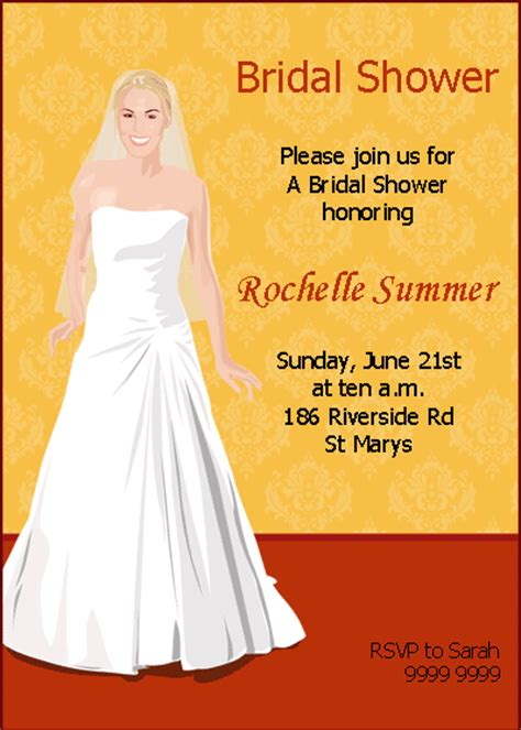 program to make bridal shower invitations 15 bridal shower invitations ideas