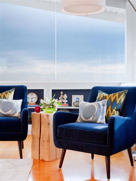 Blue Sitting Chairs Cool Your Design With Blue Velvet Furniture Hgtv S