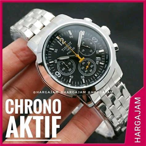 jual promo jam tangan pria tissot  chrono hargajam