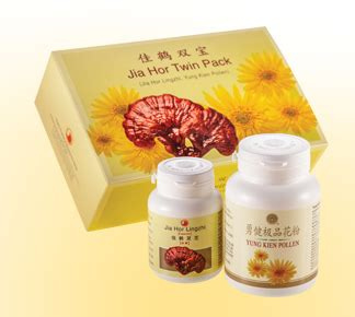 Jia Hor Lingzhi lingzhi and pollen pack lingzhi products