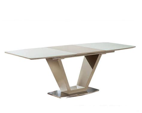 modern extension dining table modern dining table w extension 33 2135
