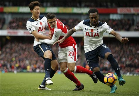 arsenal record player ratings tottenham maintain unbeaten record as