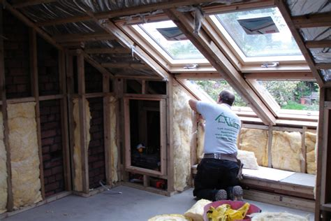 loft insulation attic room converting the loft insulation and ventilation centre