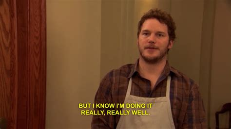 parks and rec quotes chris pratt parks and rec quotes quotesgram