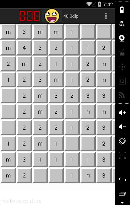 grid layout buttons android java android zoom out in of a gridlayout stack overflow