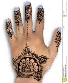 henna hena mehendi design isolated blue nails an stock