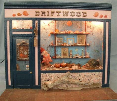studio b miniatures vignettes christmas room 1 driftwood shell shop minibee miniatures by betsie