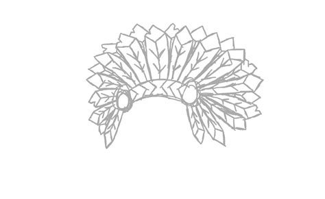 headdress coloring page wolf indian headdress coloring pages
