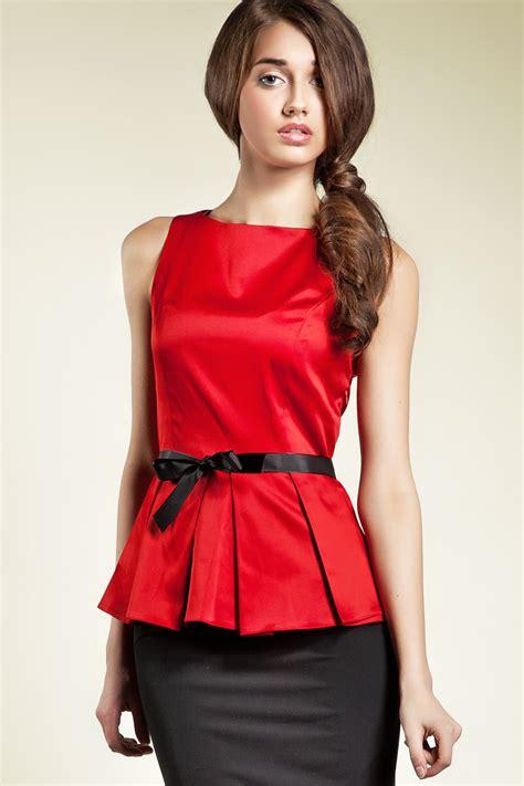 imagenes de blusas rojas blusas rojas de moda