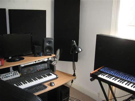 Home Studio Acoustics Design Home Studio Acoustic Treatment Client Room Photo