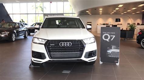 Audi Prestige Package by 2017 Audi Q7 Quattro Prestige Titanium Black Optic Package