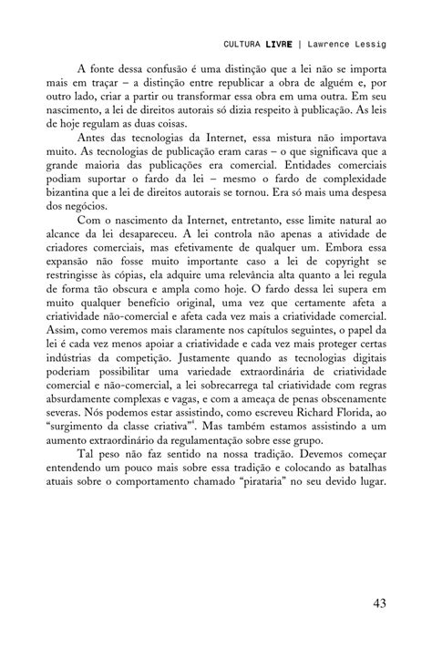 Cultura Livre by Lawrence Lessing