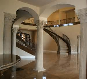 interior home columns house interior column designs stairs pinned by www modlar