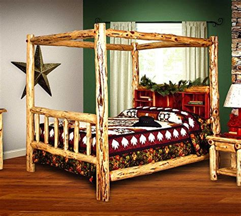red cedar bedroom furniture red cedar log queen size 5 pc bedroom furniture set amish made in us
