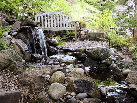 Beautiful Organic Pond Design Tips For Backyard And Garden Rock Garden Pond
