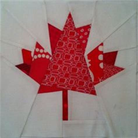 flag quest style o by darlee craftsy paper pieced maple leaf pattern