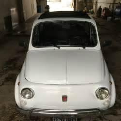 Fiat Luxury Cars 1970 Fiat 500 110f Model L Luxury White For Sale In Kearny