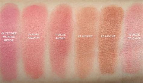 New Blush Pastel Dor bourjois pot blushes swatches see best