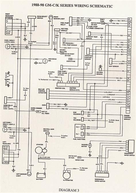 pulse wiper schematic    blazer forum chevy