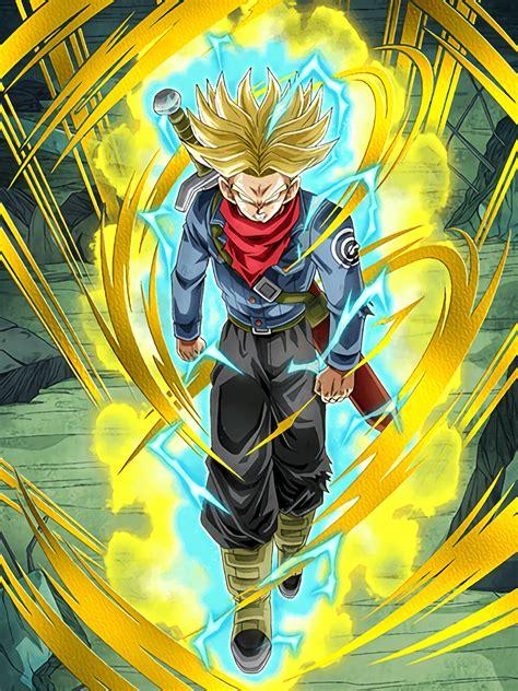 Trunks Saiyan power of rage saiyan trunks future z