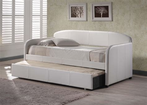 Modern Daybed With Trundle Daybed With Pop Up Trundle Bed Modern Thenextgen Furnitures Stylish Daybed With Pop Up