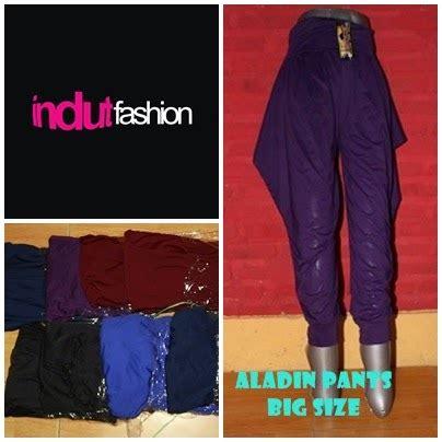 Celana Aladin Jumbo 5 induts fashion kebumen warung busanane wong gendut