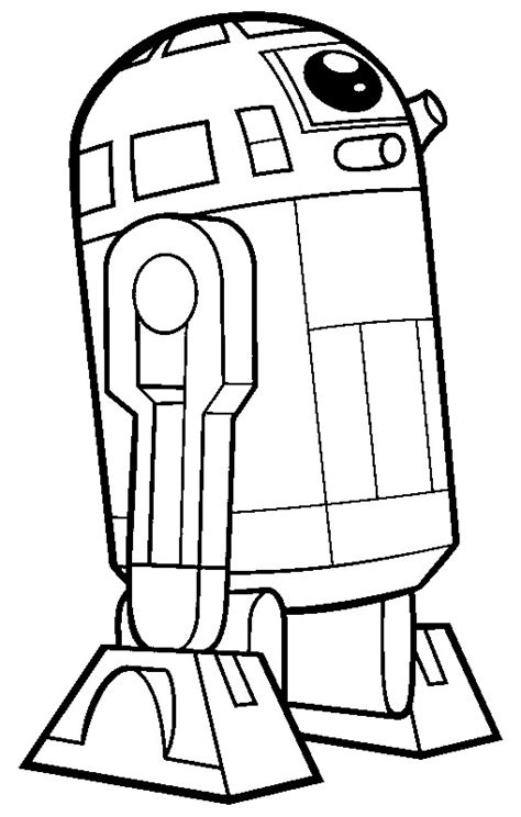 coloring page r2d2 free coloring pages of r2d2 wars