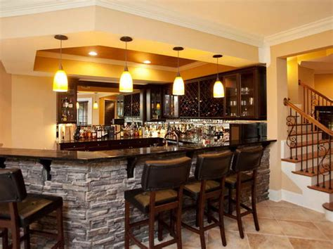 basement how to build cool basement ideas with bar