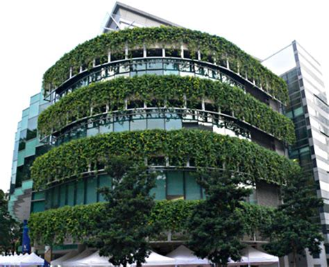 Singapore Vertical Garden Vertical Gardens Green Walls Green Roof Living Roof
