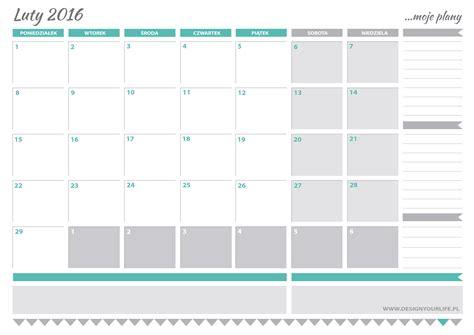 kalendarz 2016 do wydruku kalendarz 2016 do wydruku newhairstylesformen2014 com
