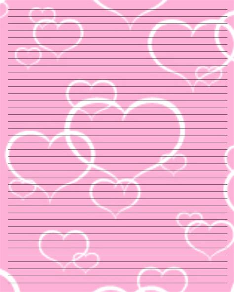 printable valentine paper 8 best images of valentine printable paper printable