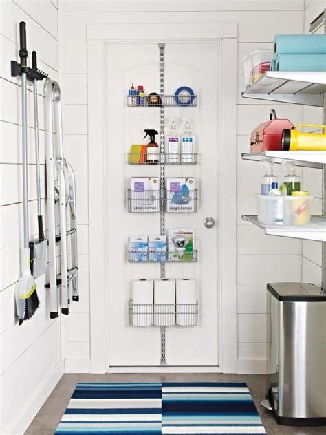 10 Clever Storage Ideas For Your Tiny Laundry Room Hgtv Storage Solutions Laundry Room