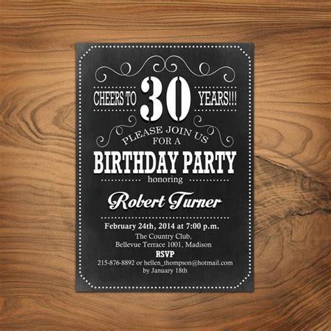 invitations for 30th birthday 30th birthday invitation 40th 50th 60th any age
