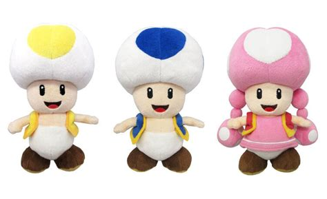 blue yellow toad from mario new sanei mario all yellow toad blue toad