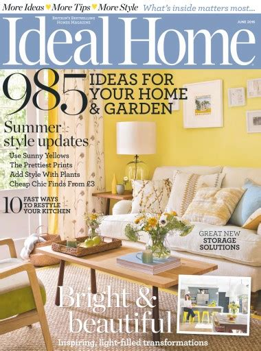 ideal home magazine subscription ideal home magazine june 2016 subscriptions pocketmags