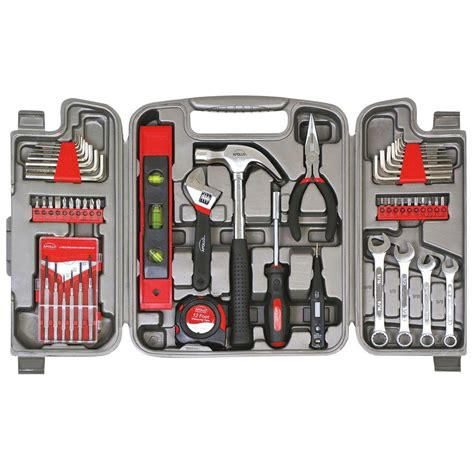 apollo household tool kit 53 dt9408 the home depot