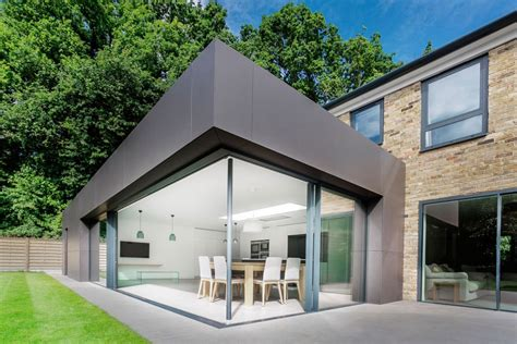 modern house extension designs modern extension enriches neo georgian home in london