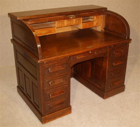antique oak roll top desk 206451 sellingantiques co uk