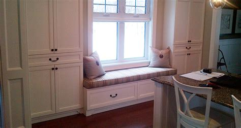 white window bench white window bench mantel trand kitchens inc trand