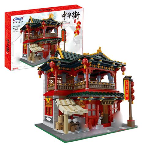 Lego 9556 Gangsing Plastic Lele Moc xingbao 01002 the beautiful tavern pub mytoys2u