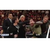 WWE Raw 12/9/13 CM Punk John Cena Randy Orton Triple H Brawl